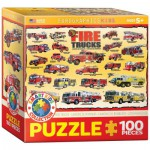 Puzzle  Eurographics-8100-0239 Vintage Fire Trucks