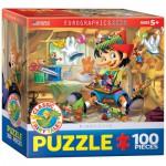 Puzzle  Eurographics-8100-0421 Pinocchio