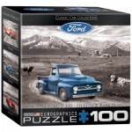 Eurographics-8104-0668 Mini Puzzle - 1954 Ford F-100
