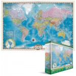 Puzzle  Eurographics-8220-0557 World Map