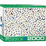 Puzzle  Eurographics-8220-0821 The World of Birds, by David Sibley