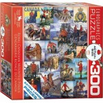 Puzzle  Eurographics-8300-0777 XXL Pieces - Royal Canadian Mounted Police
