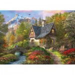 Eurographics-8300-0966 XXL Pieces - Family Puzzle: Dominic Davison - Nordic Morning