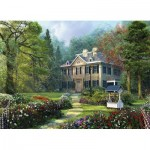 Eurographics-8300-0970 XXL Pieces - Family Puzzle: Dominic Davison - Longfellow House