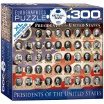 Puzzle  Eurographics-8300-1432 XXL Pieces - Presidents of the United States