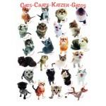 Puzzle  Eurographics-8300-1511 Cats