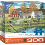 Puzzle  Eurographics-8300-5382 XXL Pieces - Farm by the Lake by Bob Fair