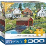 Puzzle  Eurographics-8300-5383 XXL Pieces - Old Covered Bridge by Bob Fair
