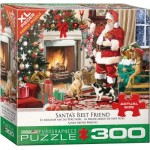 Puzzle  Eurographics-8300-5399 XXL Pieces - Santa's Best Friend