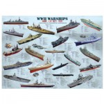 Puzzle  Eurographics-8500-0133 Warships of World War II