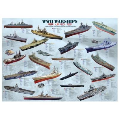 Puzzle Eurographics-8500-0133 Warships of World War II