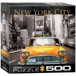 Puzzle  Eurographics-8500-0657 XXL Pieces - New York City Yellow Cab