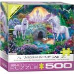 Puzzle  Eurographics-8500-5363 XXL Pieces - Unicorn Fairy Land