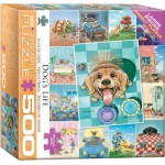 Puzzle  Eurographics-8500-5365 XXL Pieces - Dog's Life by Gary Patterson