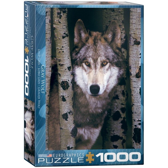 Gray Wolf Puzzle - 1000 pieces