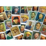 Puzzle   Van Gogh Vincent - Selfies