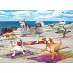 Puzzle   XXL Pieces - Yoga Beach