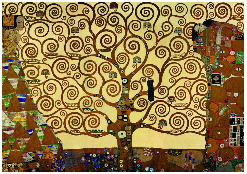 Jigsaw Puzzle - 1000 Pieces - Klimt : The Tree of Life
