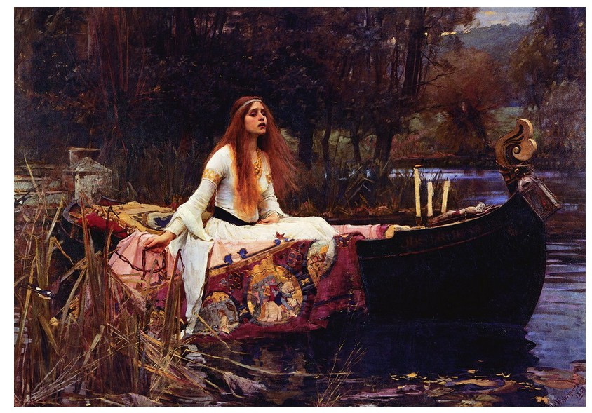 Jigsaw Puzzle - 1000 Pieces - Waterhouse : The Lady of Shalott, 1888
