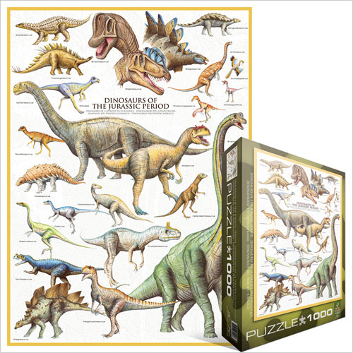 Puzzle Eurographics 6000 0099 1000 Pieces Jigsaw Puzzles Dinosaurs Jigsaw Puzzle