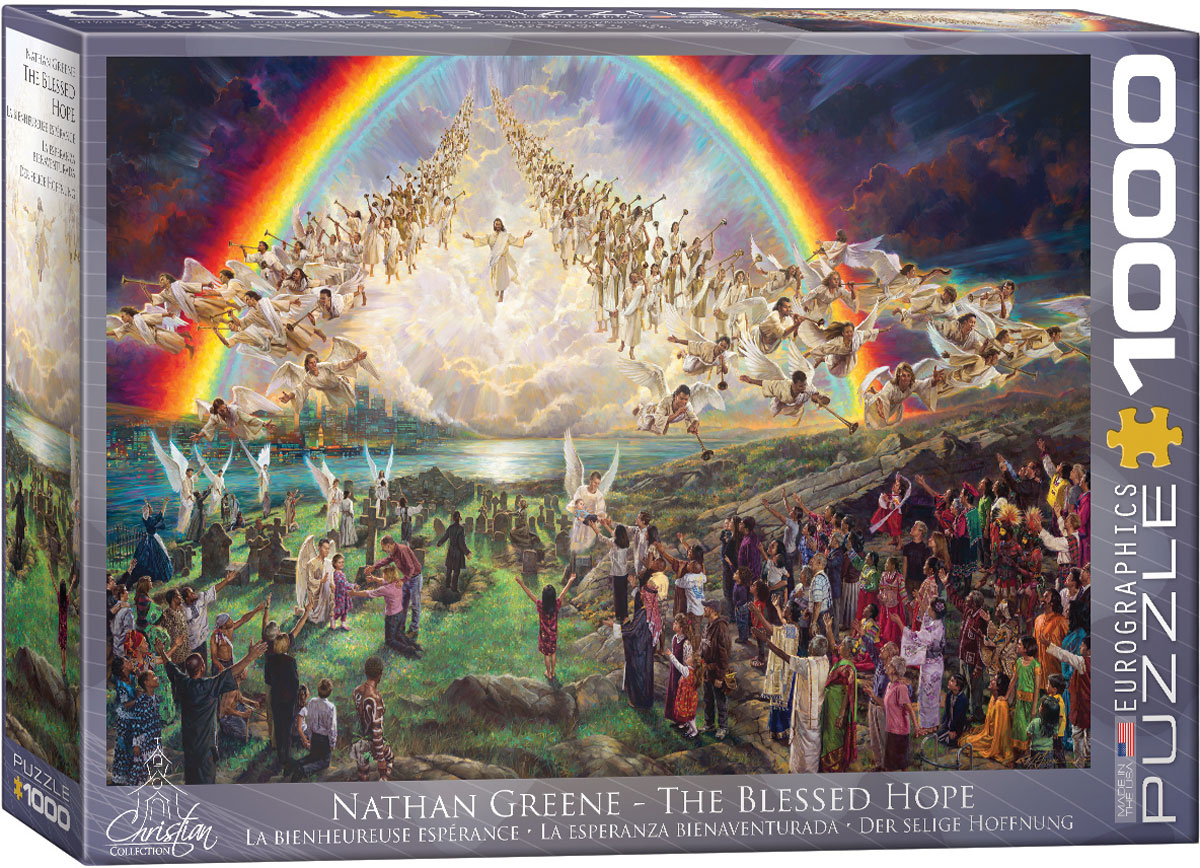Nathan Green - The Blessed Hope 1000 piece jigsaw puzzle