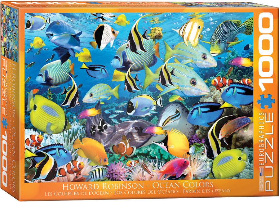 Ocean Colors by Howard Robinson 1000 piece jigsaw puzzle