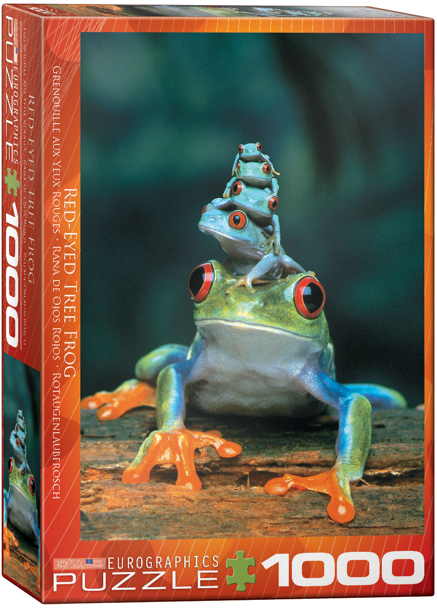 Red-Eyed Tree Frog 1000 piece jigsaw puzzle