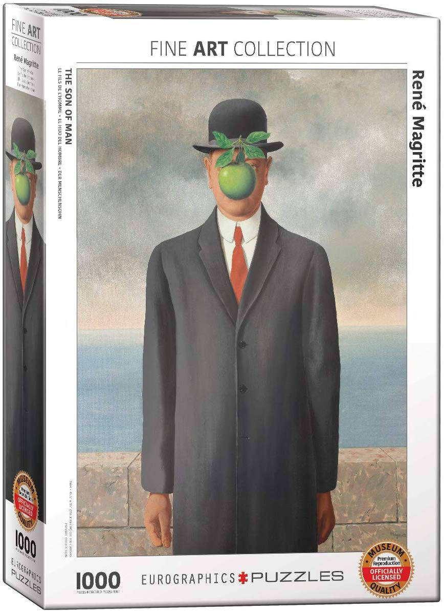 René Magritte - Son of Man 1000 piece jigsaw puzzle