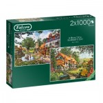 2 Puzzles - Beautiful Summer's Day