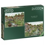2 Puzzles - Village Life
