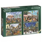 4 Puzzles - Seasons in The Village