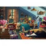 Puzzle   Cats in the Attic
