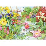 Puzzle   Flower Show: The Water Garden