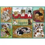 Puzzle   Happy Puppies