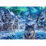 Puzzle   Trevor Mitchell - Wolves in Winter