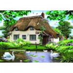 Puzzle  Jumbo-11014 Swan Cottage