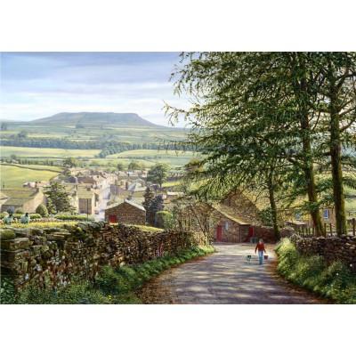 Puzzle Jumbo-11032 Around Britain - Keith Melling : Askrigg, Wensleydale