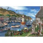 Puzzle  Jumbo-11052 Dominic Davison : Summertime Harbour