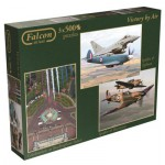 Jumbo-11059 3 Jigsaw Puzzles - Victory by Air
