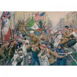 Puzzle  Jumbo-11061 Fortunino Matania : Armistice Celebrations