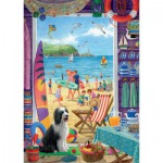 Puzzle  Jumbo-11092 Sarah Adams: Through The Beach Hut Door