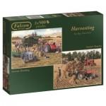 Jumbo-11124 2 Jigsaw Puzzles - Harvesting