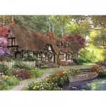 Puzzle  Jumbo-11141 XXL Pieces - Dominic Davison - The Carpenter's Cottage