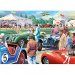 Puzzle  Jumbo-11164 XXL Pieces - Legends of The Track