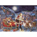 Puzzle  Jumbo-11173 XXL Pieces - The Christmas Journey