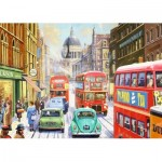 Puzzle  Jumbo-11192 Kevin Walsh - Snow in London City