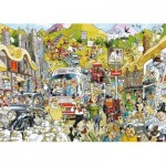 Puzzle  Jumbo-11197 Graham Thompson - Britain United