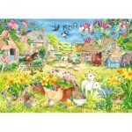 Puzzle  Jumbo-11212 XXL Pieces - Lambing Season