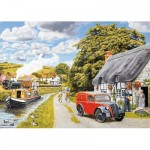 Puzzle  Jumbo-11214 XXL Pieces - Parcel for Canal Cottage