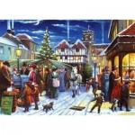 Puzzle  Jumbo-11228 Christmas Market